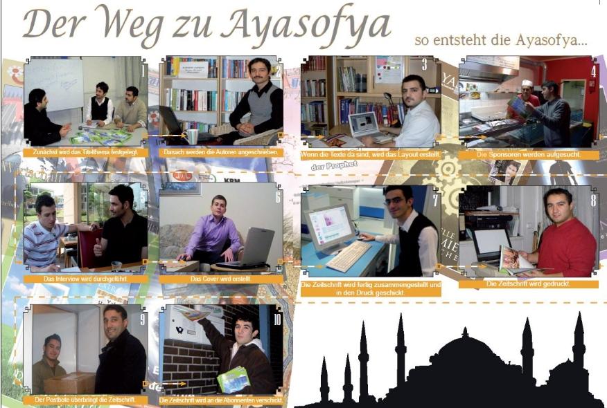 Der Weg zur Ayasofya